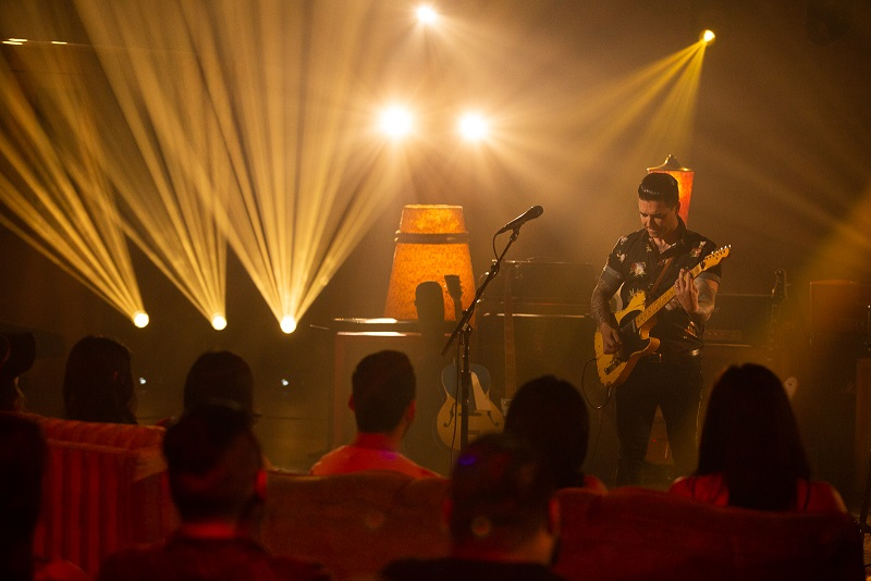 """Watch a """"First Look"""" as Dashboard Confessional performs the"""