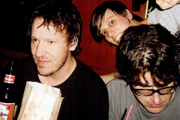 Elliott Smith and Lou Barlow