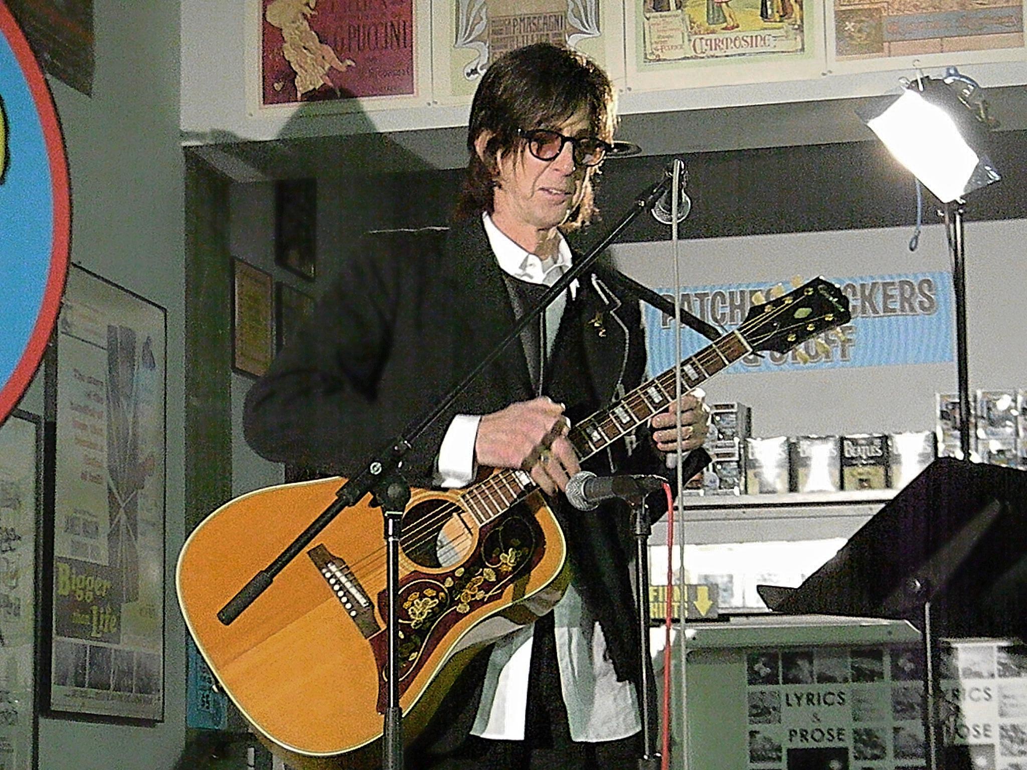 Ric Ocasek's acoustic set