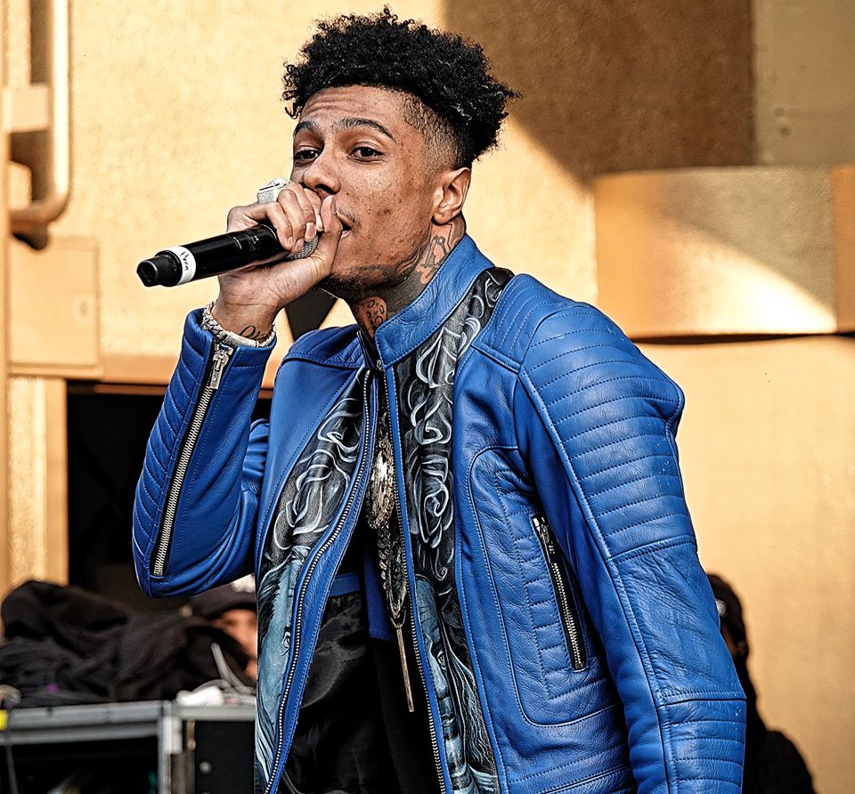 Blueface In The Middle Of A Controversy