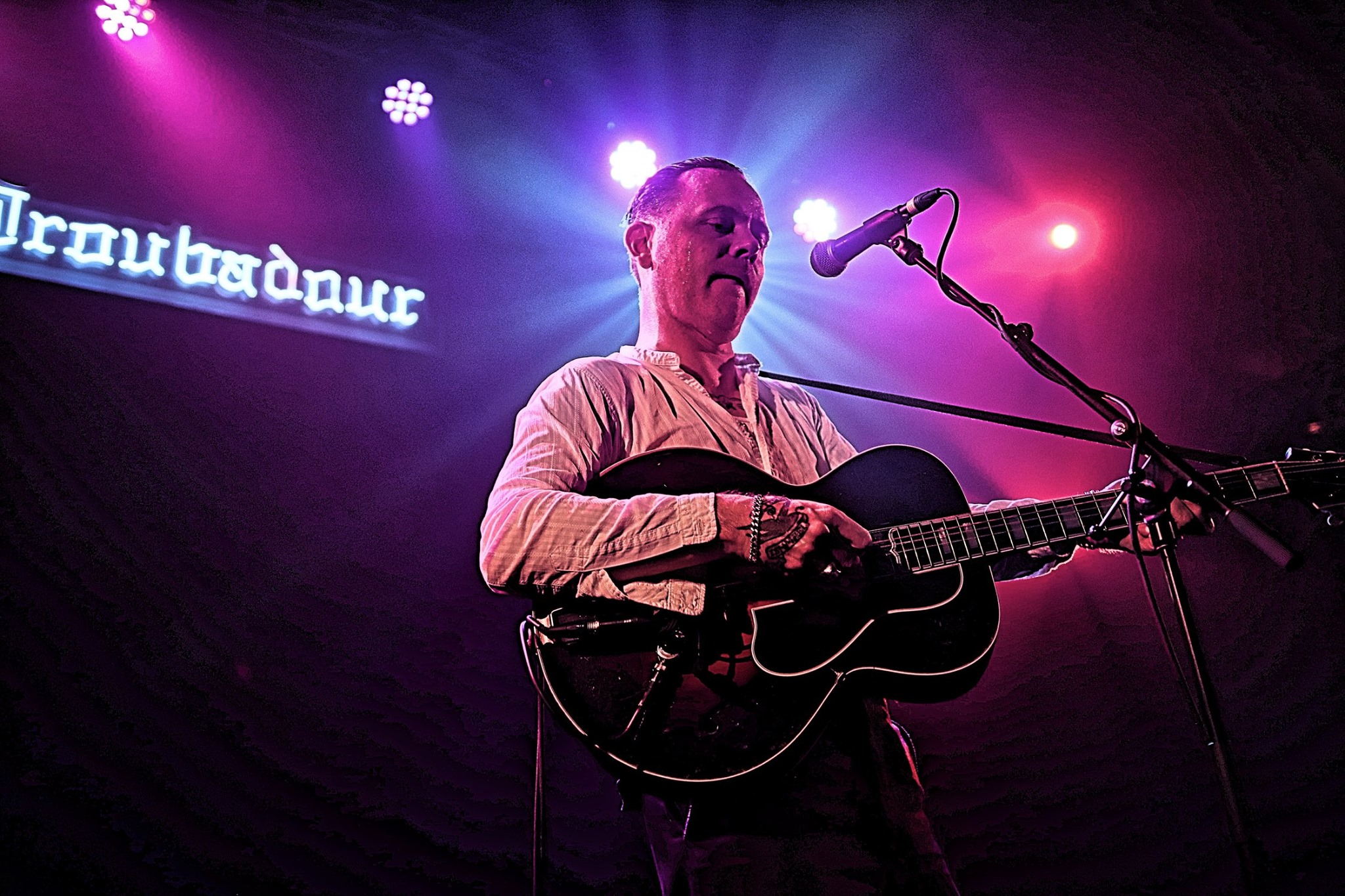 C.W. Stoneking at the Troubadour