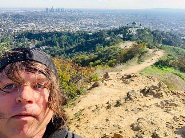 Ryan Adams is hiking