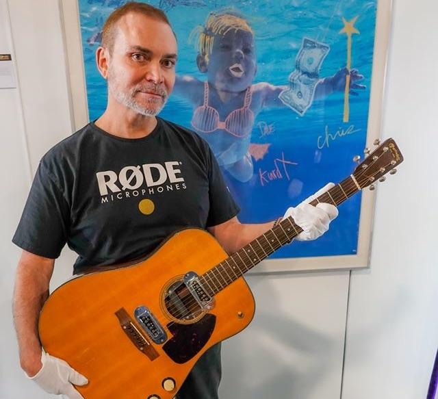 Kurt Cobain's Famous Guitar