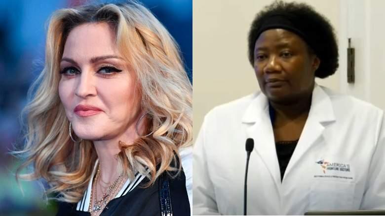 Madonna Calls DrImmanuel HerHero