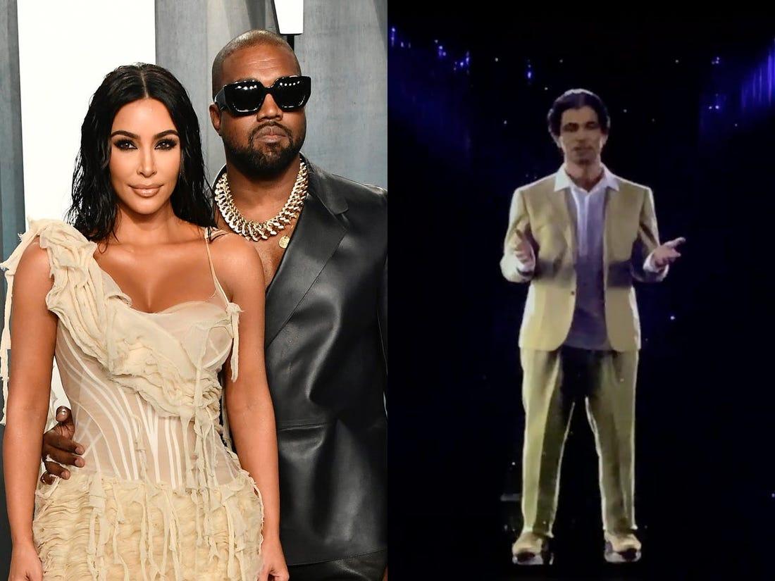 Kanye West bought a hologram