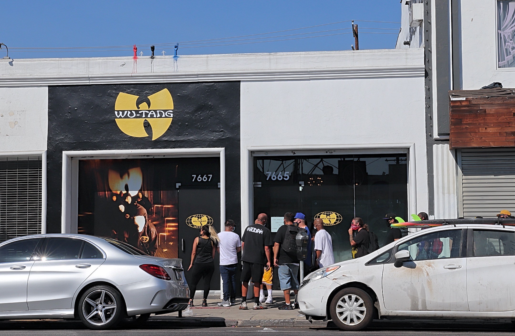 Wu-Tang Clan Set Up A Pop-up Shop