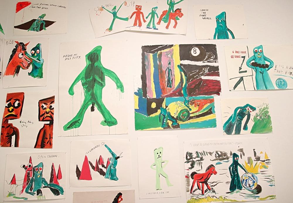 Raymond Pettibon's exhibition