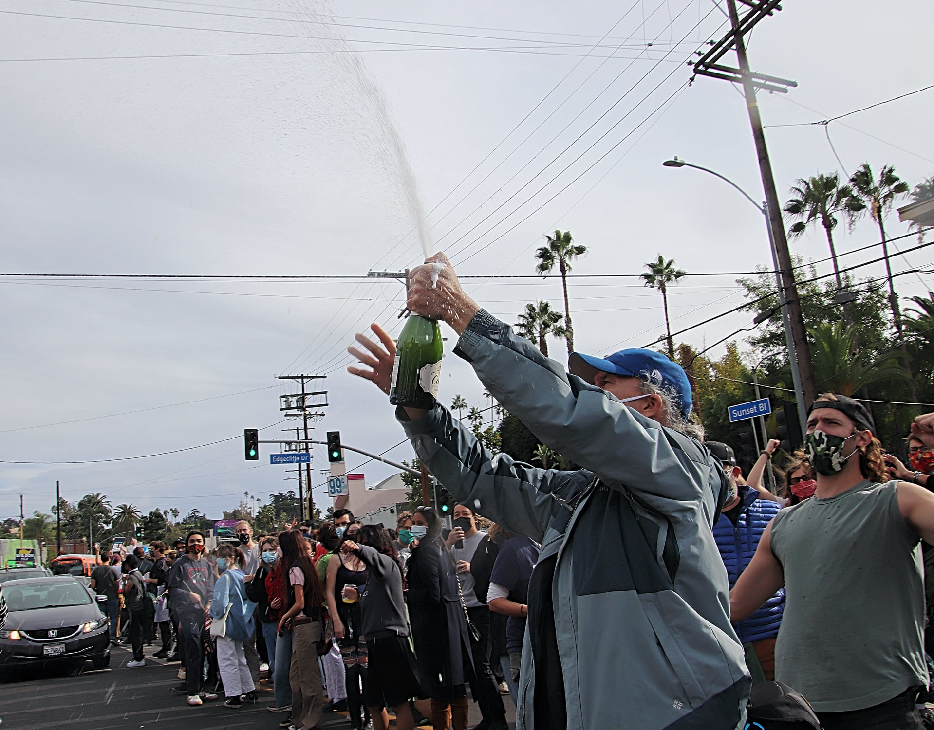 Silverlake Celebrated Biden-Harris
