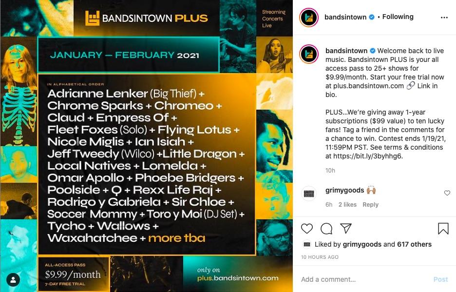 Bandsintown PLUS