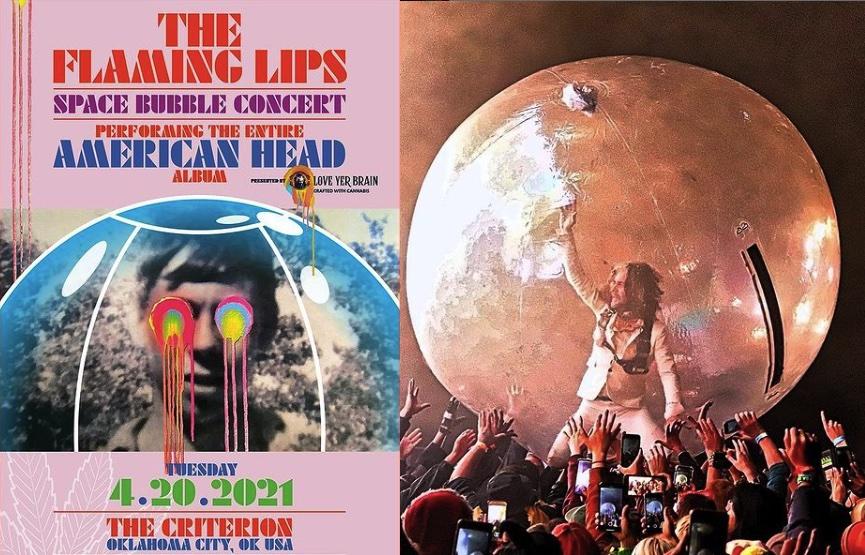 new Space Bubble show